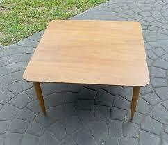 oak coffee table by morganton