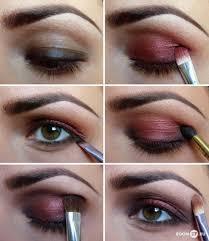 cute makeup for brown eyes