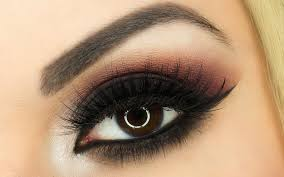 black smokey eye makeup video tutorials