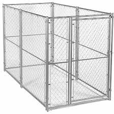 Lucky Dog Modular Chain Link Kennel Kit 6 Ft H X 5 Ft W X 10 Ft L At Tractor Supply Co