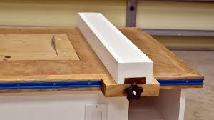 Make A Table Saw Fence For Homemade Table Saw Youtube