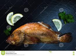Baked Red Coral Grouper Fish, Lemon ...