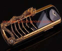 Vertu dragon gold diamond luxury phone ...