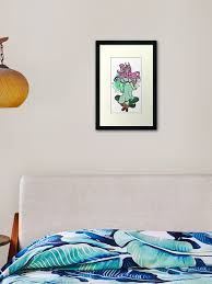 Fluttershy Framed Art Print By Crimsonfeathers Redbubble