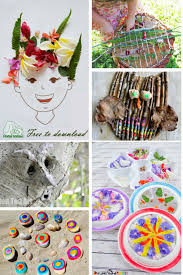 Bold Beautiful Nature Art Ideas For Kids Arty Crafty Kids