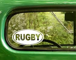 Rugby Decal Sticker The Sticker And Decal Mafia