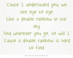 double rainbow katy perry perfect song about friendship prism