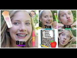 middle makeup tutorial