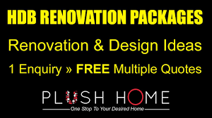 hdb renovation packages contractors designs compare quotes