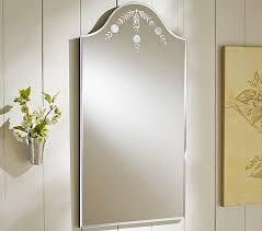 etched bathroom mirror serbyl decor