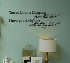 Daughter Wall Quotes Daughter Of A King Other Words To Honor Her