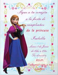 Tarjetas Invitaciones Frozen Infantiles Unicas X 12 Unid 192