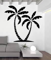 White Palm Tree Wall 3d Decal Uk Target Art Beach Large Vinyl Vamosrayos