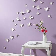 3d Butterfly Wall Stickers White 15pc Butterfly Decorations Etsy In 2020 3d Butterfly Wall Decor Butterfly Room Decor Butterfly Wall Decor