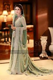 beautiful mint green pistachio walima