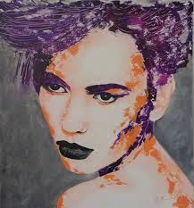 Face 3 Painting by Beverley Smith Martin | Saatchi Art