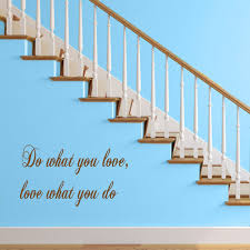 Do What You Love Wall Decal Vinyl Wall Art Quotes