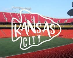 Kansas City Decal Etsy
