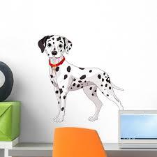 Latitude Run Cute Dalmatian Dog Peel And Stick Graphic For Boys Wall Decal Wayfair