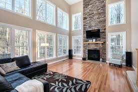 floor to ceiling stone fireplace images