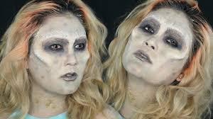 you made me do zombie makeup tutorial