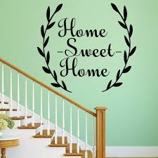 home sweet home family quotes wall decal v