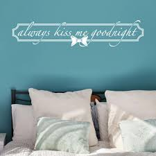 Always Kiss Wall Decal Style And Apply