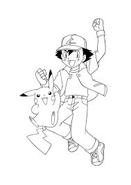 Pokemon Hoera Pokemon Kleurplaten Kleurplaat Com