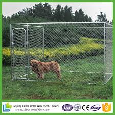 China Wholesale Large Chain Link Box Outdoor Cheap Fence Dog Cage China Dog Kennel And Dog Cage Price