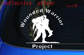 2020 Wounded Warrior Project Car Window Decal Vinyl Sticker Soldier Army Marines Usmc Car Window Decal Reflective Stickers From Mysticker 5 03 Dhgate Com