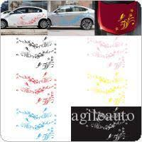 2020 Car Decal Auto Modifield Decal Vinyl Stickers Natural Flower Vine Dragonfly For Whole Car Body Cea 30k From Agileauto 21 17 Dhgate Com