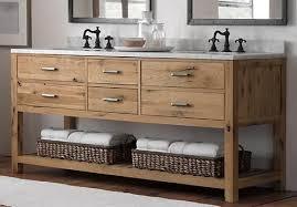 reclaimed wood bathroom vanity wood