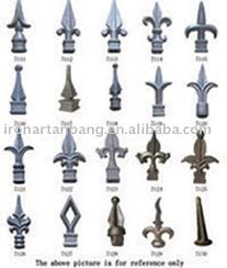 Source Ornamental Iron Fence Finials Cast Iron Spearhead Lanceted Cast Iron Fitting On M Alibaba Com Iron Railing Wrought Iron Railing Wrought Iron Design
