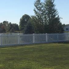 Weatherables Plymouth 5 Ft H X 6 Ft W White Vinyl Picket Fence Panel Kit Pwpi 3r5 5 5x6 The Home Depot