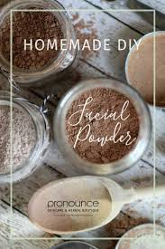 diy organic powder recipe