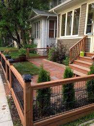 20 Awesome Way To Decor Your Backyard With Small Garden Fence Ideas Backyard Gardenfence Modern Front Yard Front Yard Landscaping Design Small Garden Fence