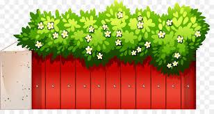 Floral Pattern Background Clipart Illustration Fence Flower Transparent Clip Art
