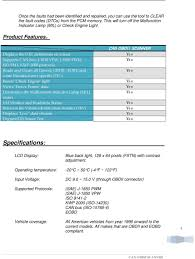 1 can obdii scanner user s manual can
