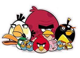 Angry Bird Flock Decal Nostalgia Decals Retro Vinyl Stickers Nostalgia Decals Online