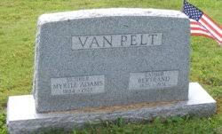 Myrtle Adams Vanpelt (1884-1929) - Find A Grave Memorial