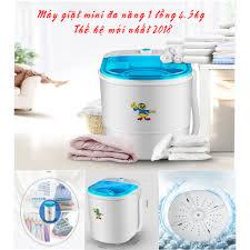 Máy giặt mini 1 lồng 4.5 kg , thế hệ mới nhất 2019