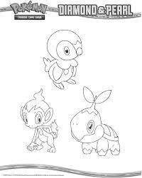 Pokemon Jotoreagen Beginer Pokemon Coloring Pages Starter