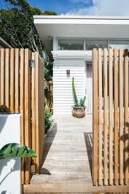 Fence Fence Backyard Fence Design Fence Diy Fence Ideas Kara Kitchenliving Kyal Studio In 2020 Beach House Design House Exterior Weatherboard House
