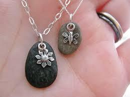 river rocks pendant necklace i was