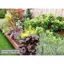 professionally designed garden borders