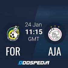 Fortuna Sittard - Ajax » Live Score & Stream + Odds, Stats, News