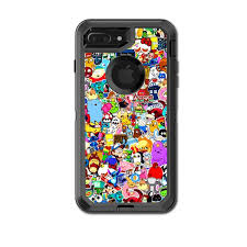 Skin Decal For Otterbox Defender Iphone 7 Plus Or Iphone 8 Plus Case Sticker Collage Sticker Pack Itsaskin Com