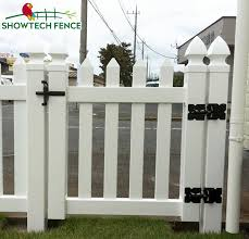 White Cheap Vinyl Picket Fence Gate Buy Garden Gate Pvc Fence Home Gate Product On Alibaba Com