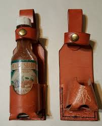 hot sauce holster with or without