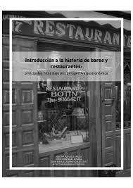 Introduccion A La Historia De Bares Y Restaurantes By Fecoga Issuu
